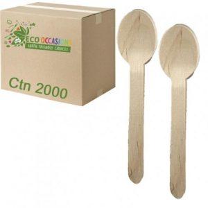 Alpen Wooden Spoons 155mm Ctn 2000