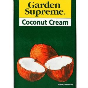 Garden Supreme Coconut Cream Tetra Pack 1 Litre