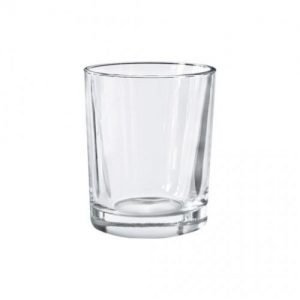 Glass Candle Holder Votive 65mm Clear