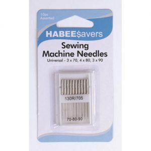 Machine Needles Assorted Pk10 Ctn of 5