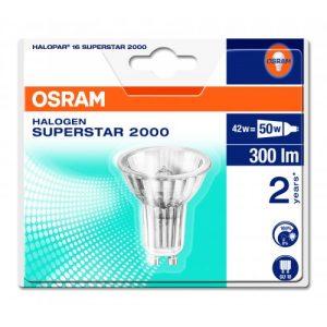 Osram Halogen Down Light GU10 240v 42w Box 10