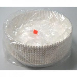 Round Pan Liners White
