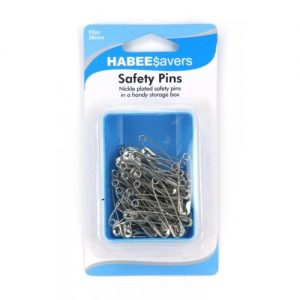 Safety Pins 38mm Box 50 Ctn of 9