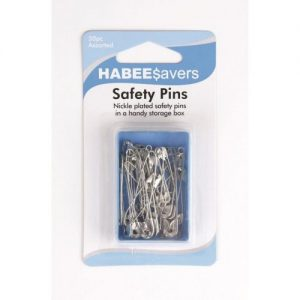 Safety Pins Assorted Pk30 Ctn of 5