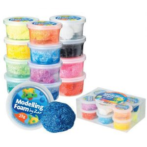 Modelling Foam Assorted Pack of 12